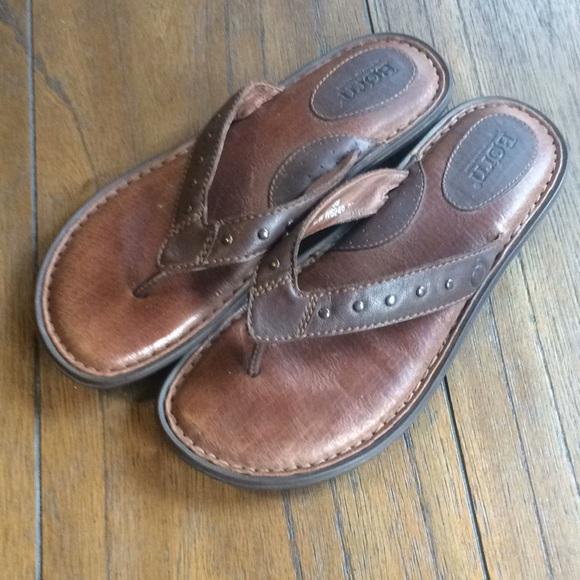 New Born Leather Thongs/ Flip Flops